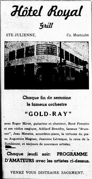 Étoile du Nord 25 mai 1950