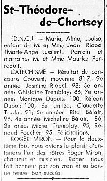 L'Action Populaire 15 juin 1950