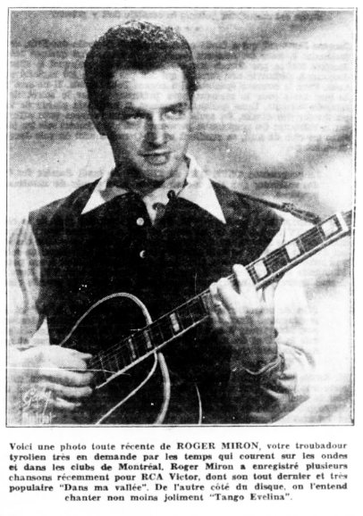 Radiomonde 28 mars 1953