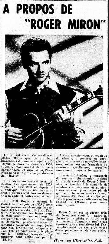 L'Étoile du Nord 18 août 1954