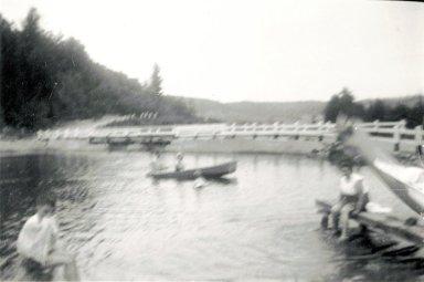 Bassin en amont du pont Rochon