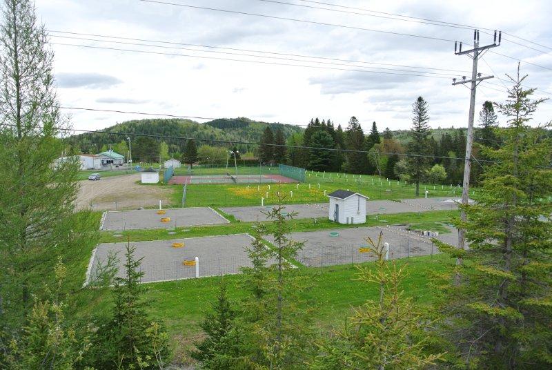 Le Parc Municipal: l'entrée de Chertsey