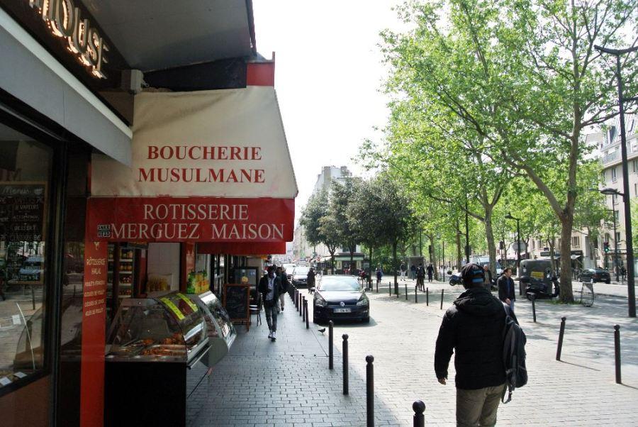 Boucherie musulmane, 19ème