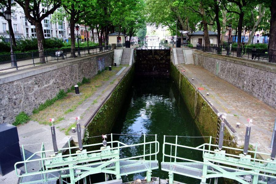 Écluse du canal St-Martin