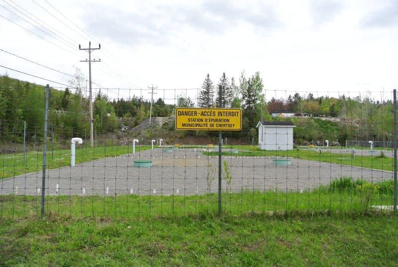 Le Parc Municipal: la station d'épuration de Chertsey