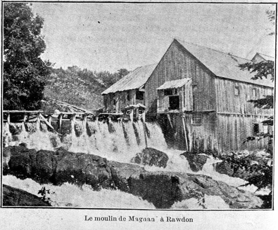 Le moulin à Magnan (BANQ)