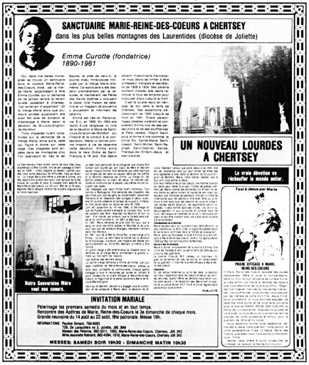 Le Nouvelliste 8 juillet 1986