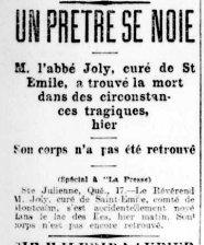 La Presse 17 novembre 1900