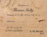 L'exécution de Tom Nulty