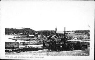 Le village de St-Émile de Montcalm