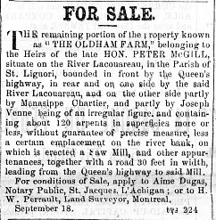 Montreal Herald 18 septembre 1862