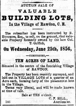 Montreal Herald 20 juin 1856