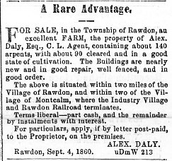 Montreal Herald 6 septembre 1860