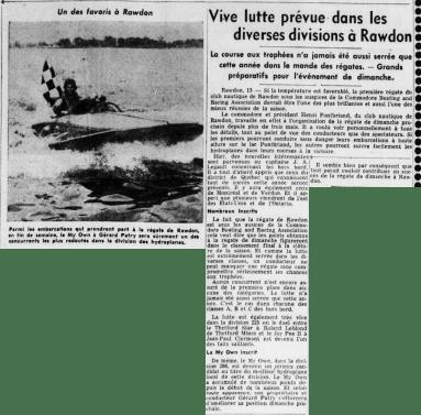 L'Action Populaire 13 août 1954