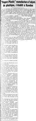 L'Action Populaire 4 mai 1950