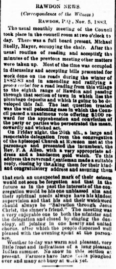 Daily witness 10 novembre 1883