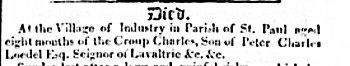 Canadian Spectator 30 novembre 1825