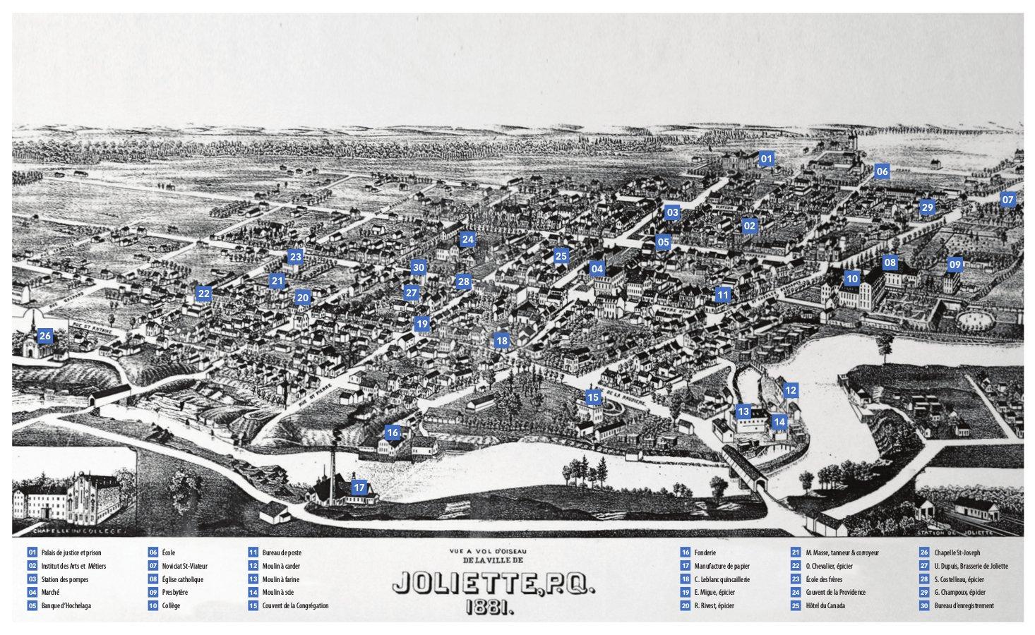 Joliette en 1881