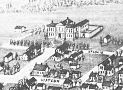 Joliette 1881 - Le Palais de Justice