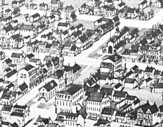 Joliette 1881 - Place Bourget