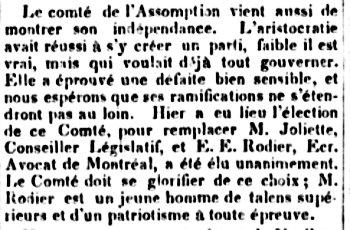 La Minerve 2 août 1832