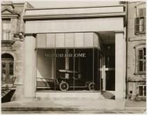 Vue de la façade principale du Motordrome