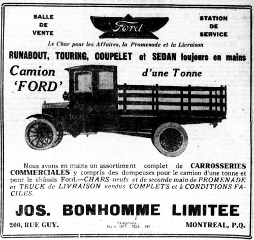 Camion Ford 1921