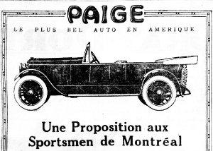 Salon de l'auto 1921