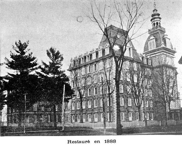 Restauré en 1888