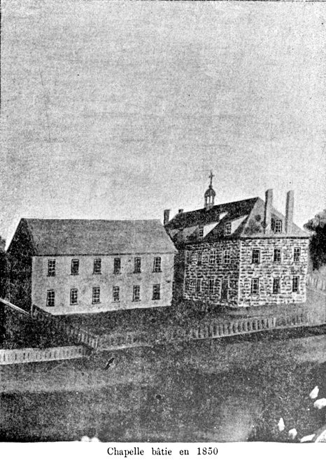 Chapelle bâtie en 1850