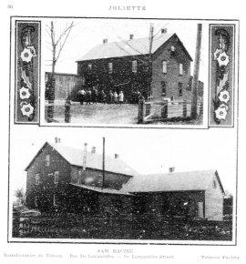Manufacture de tabac Joliette 1913