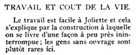 Joliette en 1913