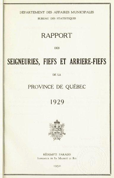 Loi concernant les droits seigneuriaux dans cette province