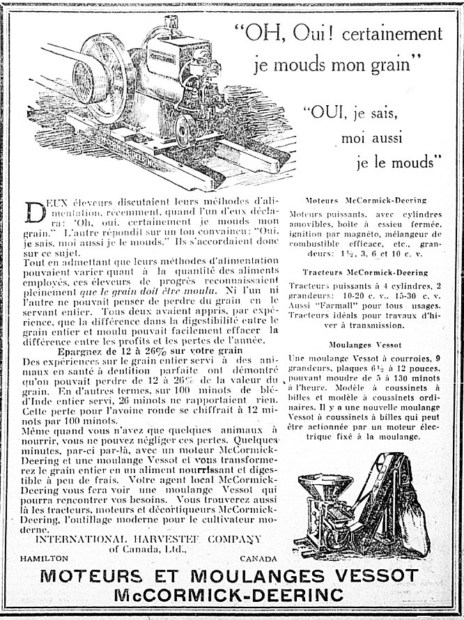 Bulletin des agriculteurs 10 novembre 1927
