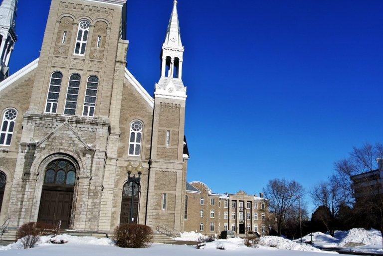 Cathédrale et évêché de Joliette