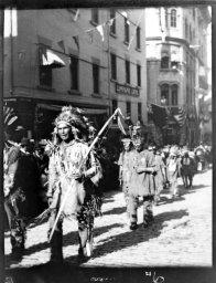 Les indiens du tricentenaire de Québec