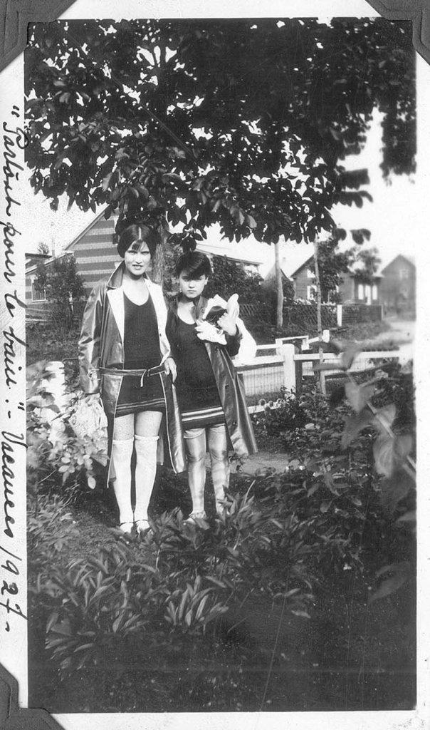 Partir pour le bain 1927
