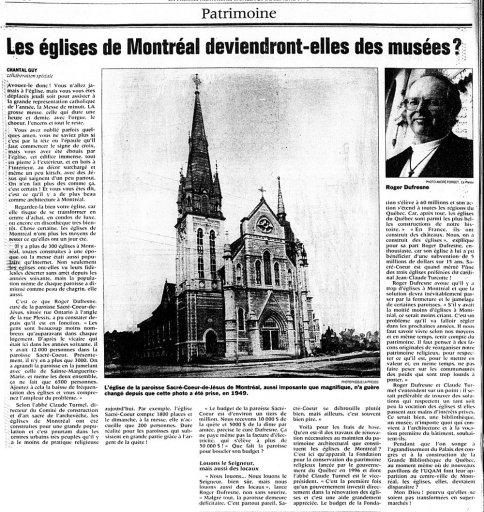 La Presse 26 décembre 1998