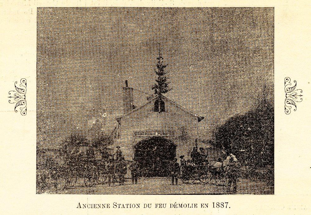 Ancienne station du feu