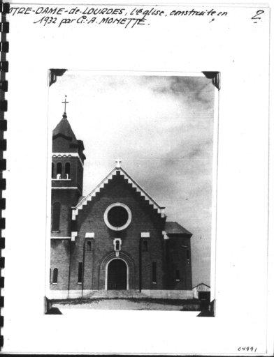 Fonds Morisset Notre-Dame-de-Lourdes