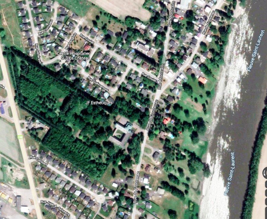 Le monastère de Berthierville vue aérienne