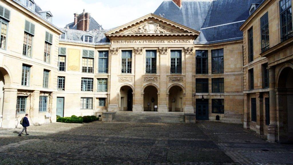 La bibliothèque Mazarine