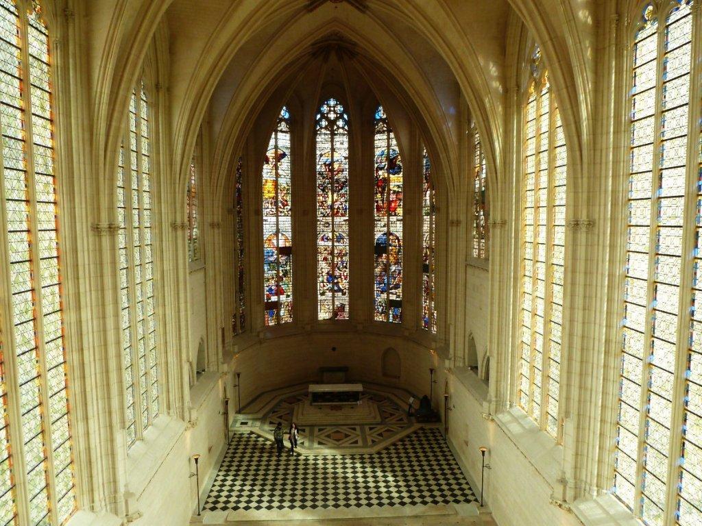 Chateau de Vincennes: la chapelle