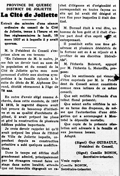 L'Étoile du Nord, 18 mars 1937