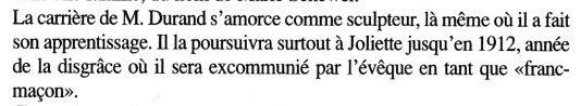 Alphonse Durand franc-maçon