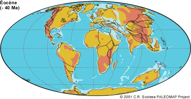 -40 millions d'années