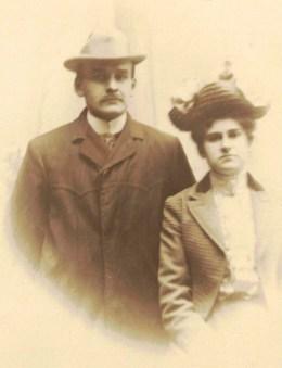 Charles-Théodore Viau et Julie-Alice Plamondon