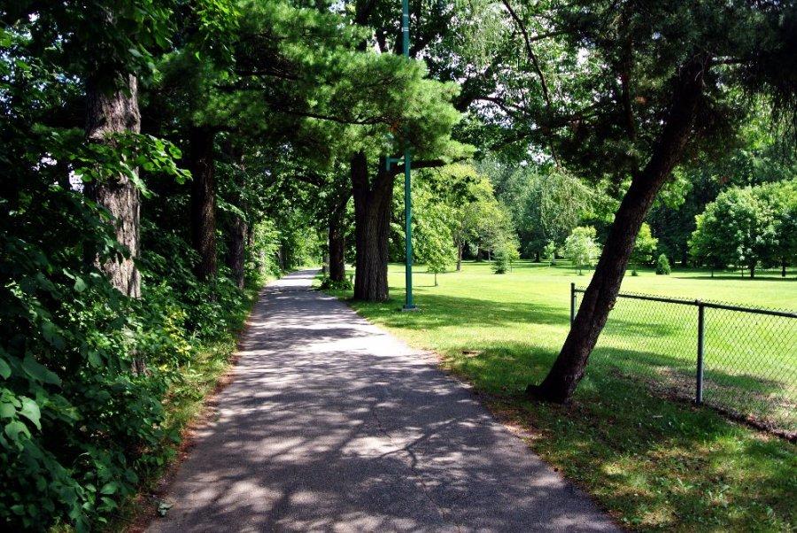 Le parc du collège, Joliette