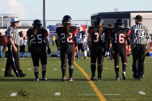 Montreal Blitz Team captains