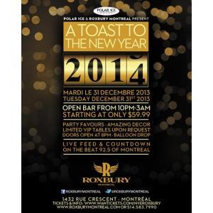 roxbury a toast to the new year